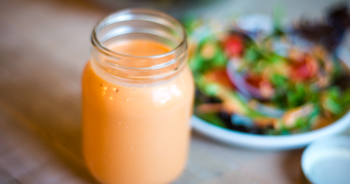 You can make this super easy and very taste homemade French Salad Dressing at home.
